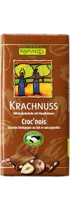 Krachnuss Vollmilch Schokolade Haselnuss Bio
